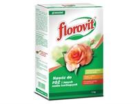 Удобрение Флоровит для роз и других цветущих растений, 1 кг (коробка)
