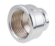 "Муфта ред. вн.-вн. 1""x1/2"" ХРОМ General Fittings (хром полир.)"