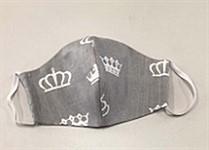 Маска многоразовая защитная гигиеническая серая, BRADEX