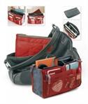 Органайзер для сумки «СУМКА В СУМКЕ» цвет  красный, BRADEX
