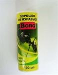 """Порошок от муравьёв BORG полный аналог """"Bros"""", 100 г."""