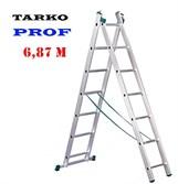 Лестница 6,87 м. TARKO PROF 2-х секционная