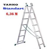 Лестница 6,36 метра, TARKO Standart 2-х секционная