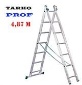Лестница 4,87 метра, TARKO PROF 2-х секционная