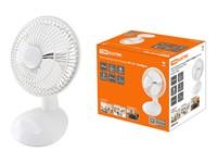 """Вентилятор электрический настольный ВС-01 """"Тайфун"""", TDM (15 Вт, диаметр 15 см; 2 скорости; автоповорот)"""