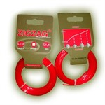 Леска триммерная ZIGZAG PROFITRIM 2,0 мм, 10 м, красная, квадрат