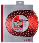 Алмазный диск (по камню) Stein Pro 300х2,8х25,4/30 FUBAG