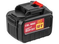Аккумулятор WORTEX CBL 1860 18.0 В, 6.0 А/ч, Li-Ion ALL1 (18.0 В, 6.0 А/ч)
