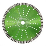 Диск алмазный 230*10*22,23 мм, Grand Ultra Turbo-Segment, Hilberg