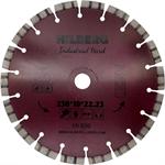 Диск алмазный 230*10*22,23 мм, Hilberg Industrial Hard Laser