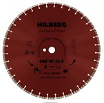 Диск алмазный 500*25,4*10 Industrial Hard Hilberg