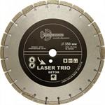 Диск алмазный отрезной 350*12*25,4 Trio Diamond Лазер бетон