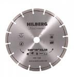 Диск алмазный по железобетону 230*22.23*10 Hilberg Hard Materials Лазер