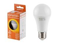 Лампа светодиодная A60 СТАНДАРТ 11 Вт 170-240В E27 3000К ЮПИТЕР (90 Вт аналог лампы накал., 960Лм, теплый белый свет)