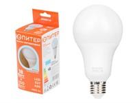 Лампа светодиодная A80 СТАНДАРТ 18 Вт 170-240В E27 4000К ЮПИТЕР (150 Вт аналог лампы накал., 1400Лм, нейтральный белый свет)