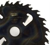 Дисковая пила NOOK SY(M) 300.50.16+4 2.6/4.0 мм, с очистителями пропила и промежуточным зубом