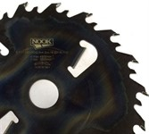 Дисковая пила NOOK SY(M) 350.50.18+4 2.6/4.2 мм, с очистителями пропила и промежуточным зубом