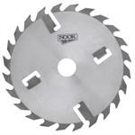 Дисковая пила NOOK 450x50 мм, 24+4 зуб. с подрезными ножами