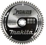 Диск пильный 190х20 60T Specialized (для алюминия латуни бронзы пластика и ламината) Makita