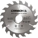 Диск пильный по дереву 165x30/25.4/20/16 мм, 18 зубов CARBON