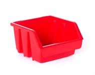 Лоток для метизов 115х115х75 мм, STARFIX (красный)