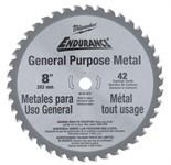 Диск пильный по металлу D 203x15,8 Z42 для циркулярной пилы MILWAUKEE
