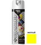 Краска-эмаль аэроз. флуоресцентная желтый INRAL 500мл
