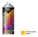 Краска-эмаль аэроз. универсальная светло-желтый INRAL 400мл (1003) (Цвет светло-желтый глянц.)