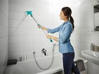 Щетка для мытья плитки Bath Cleaner 20 см, Click-System, Leifheit