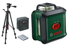 Лазерный нивелир Universal Level 360 Set (зелёный луч) + штатив ТТ 150 BOSCH