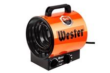 Тепловая пушка электрическая Wester TB-3000, обогрев до 100 м3