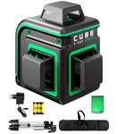 Уровень лазерный ADA CUBE 3-360 GREEN PROFESSIONAL EDITION со штативом (3 проекции 360гр, 20/70 м, 0,3 мм, 1/4)