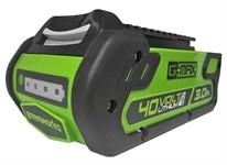 Литий-ионный аккумулятор Greenworks G-MAX 40V (40 В, 3.0 А*ч)