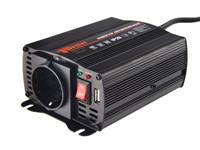 Инвертор автомобильный WESTER MSW 250 (12В/220В, 250 Вт)