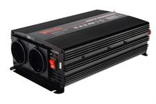 Инвертор автомобильный WESTER MSW 1300 (24В/220В, 1300 Вт)