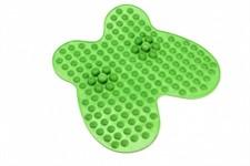 Коврик массажный рефлексологический для ног «РЕЛАКС МИ» зеленый BRADEX
