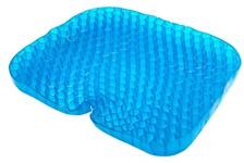 Подушка на сидение силиконовая «СОТЫ» 42х35х5 см, BRADEX