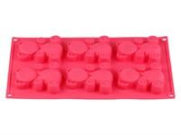 Форма для выпечки, силиконовая, прямоуг. на 6 кексов, 30.5 х 18 х 2 см, FRUIT DOVE, PERFECTO LINEA