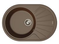 Мойка кухонная ТНОR FJORD 76 шоколад (760*510 мм)