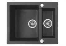 Мойка кухонная TEKA CLIVO 60 B-TQ (610*495 мм)  оникс