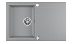 Мойка кухонная TEKA CLIVO 45 B-TQ  (780*495 мм) алюминий