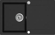 Мойка кухонная TEKA CLIVO 45 B-TQ  (780*495 мм)  оникс