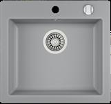 Мойка кухонная TEKA CLIVO 50 S-TQ  (490*455 мм) алюминий