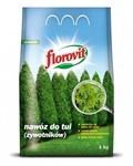 Удобрение Флоровит для туй граннулированное 1кг, мешок