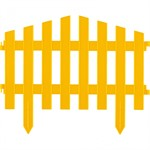 "Забор декоративный ""Марокко"", 28 х 300 см, желтый, Palisad"