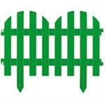 """Забор декоративный """"Романтика"""", 28 х 300 см, зеленый, Palisad"""