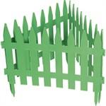 """Забор декоративный """"Рейка"""", 28 х 300 см, зеленый, Palisad"""