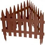 """Забор декоративный """"Рейка"""", 28 х 300 см, терракот, Palisad"""