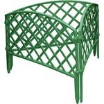 """Забор декоративный """"Сетка"""", 24 х 320 см, зеленый, Palisad"""