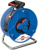 Удлинитель на катушке 3 розетки, длиной 50 метров 3,3 кВт BRENNENSTUHL